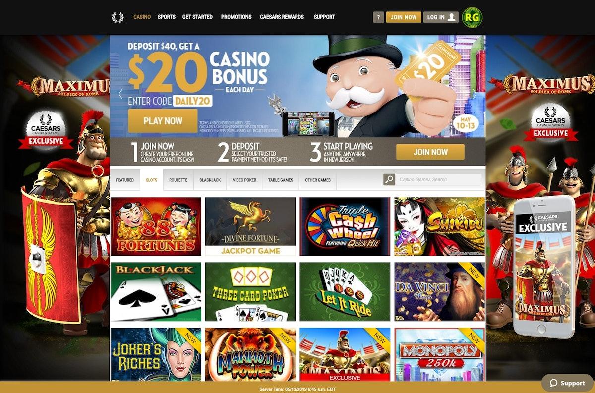 Caesars Online Casino Promo Code