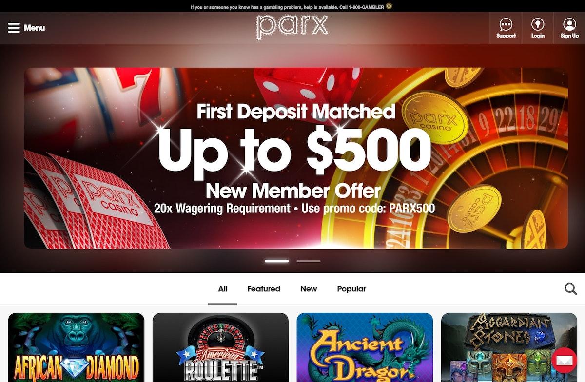 Parx online casino app online
